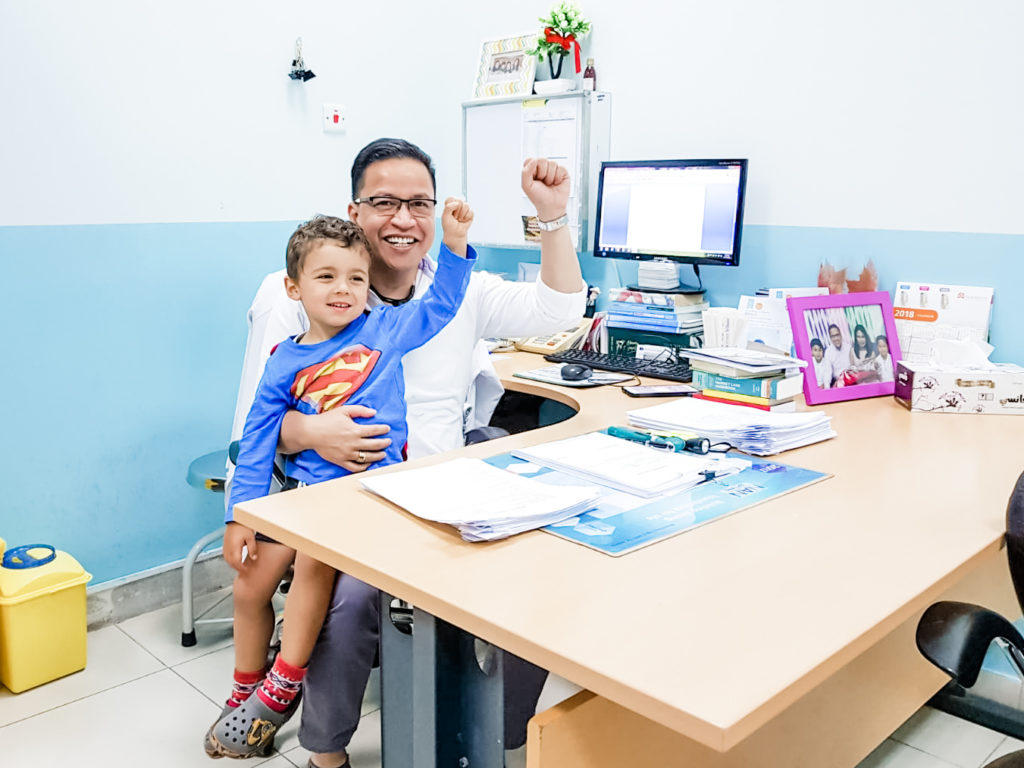 qatar pediatrician