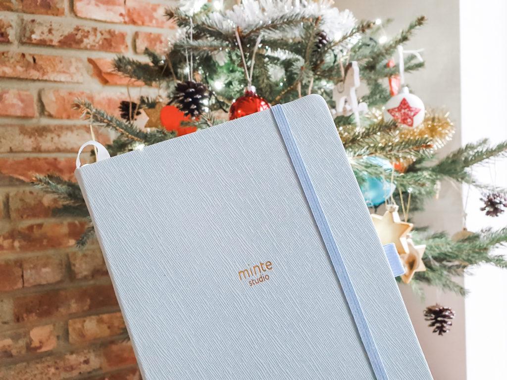 minte notebook blue
