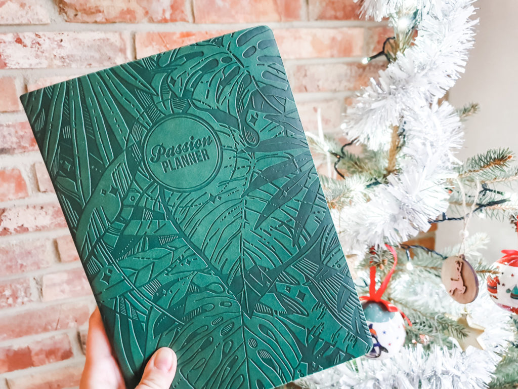 passion planner green 2020
