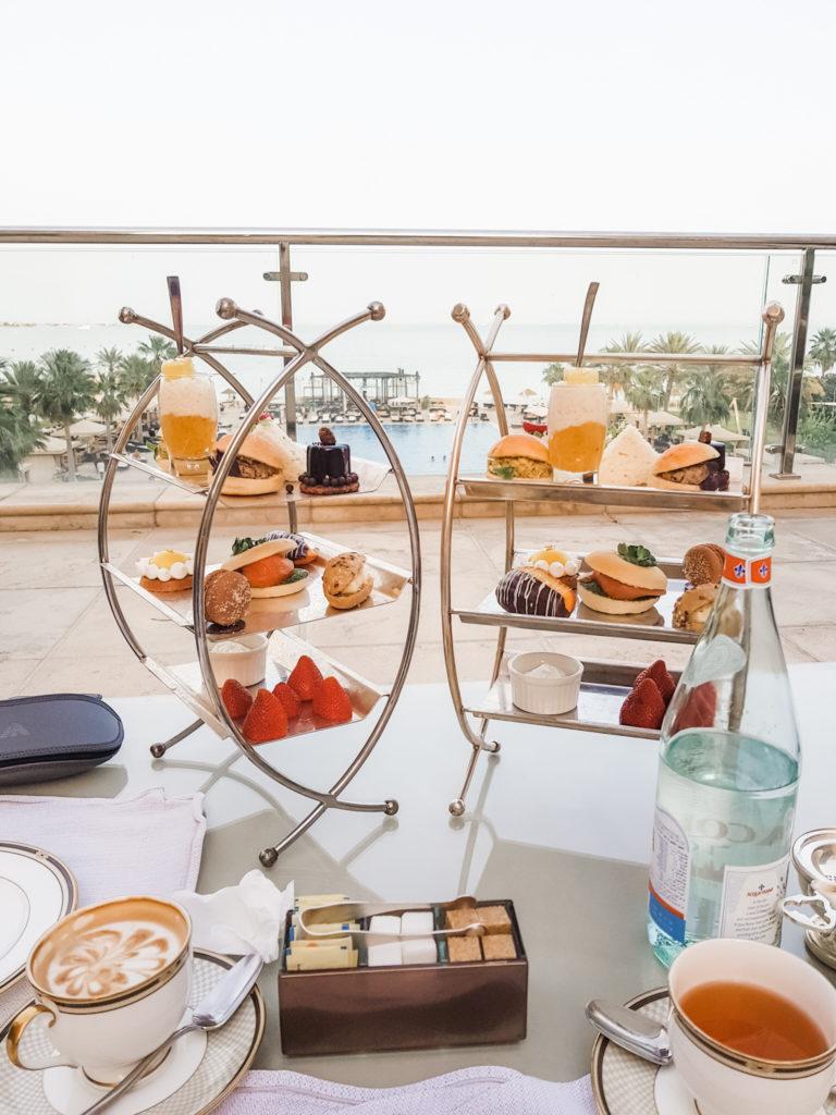 Sarab Lounge afternoon tea
