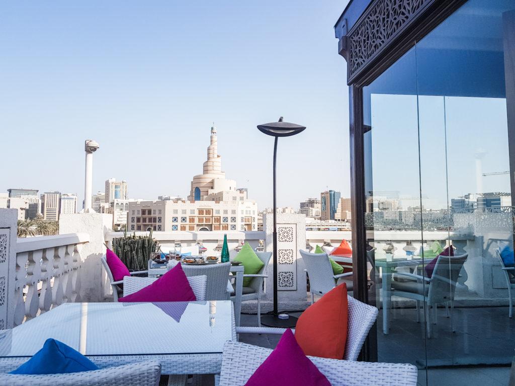 Al Shurfa Qatar terrace