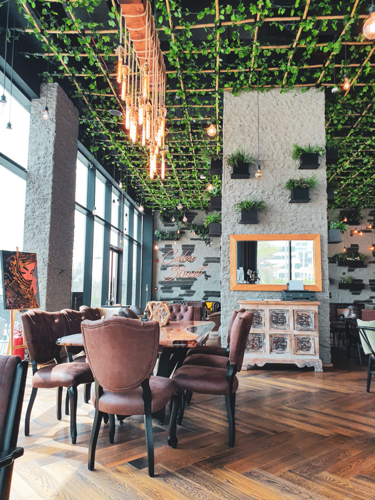 cafe to work remotely in Lusail, Calm Street