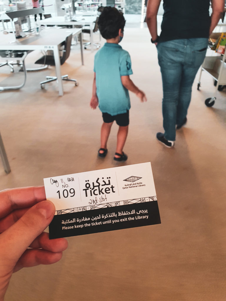 Ticket to QNL and the Children's Library
